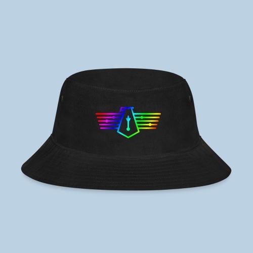 Westport Bird Rainbow on transparent - Bucket Hat