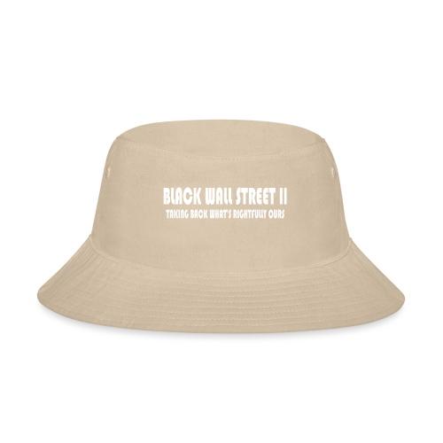 BWSII white - Bucket Hat