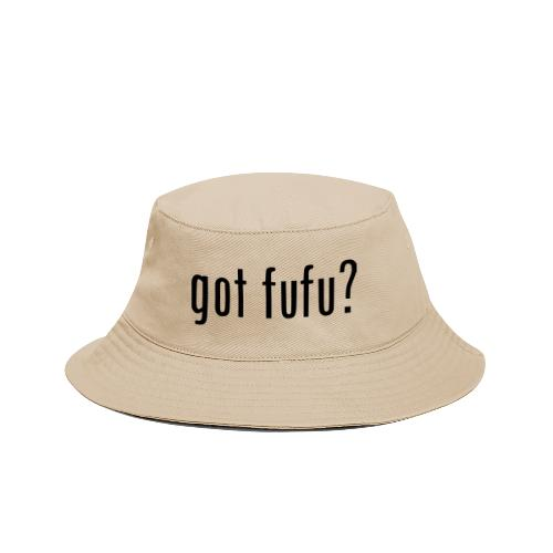 gotfufu-black - Bucket Hat