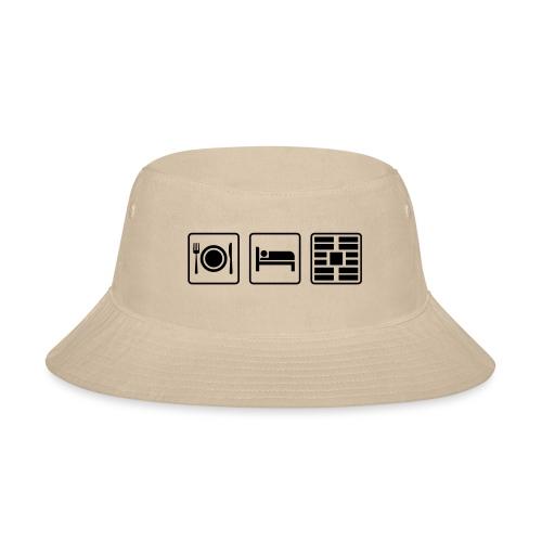 Eat Sleep Urb big fork - Bucket Hat