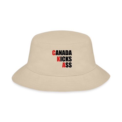 Canada Kicks Ass Vertical - Bucket Hat