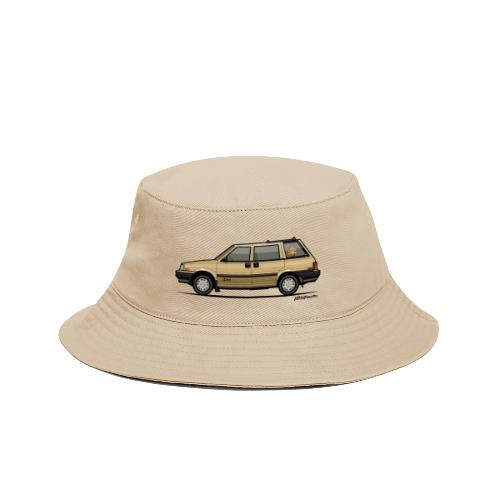 Nissan Stanza 4wd Multi Wagon Datsun Prairie Gold - Bucket Hat