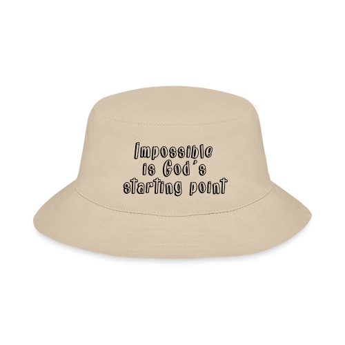 God's starting point - Bucket Hat