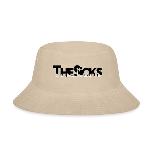 The Sicks - logo black - Bucket Hat