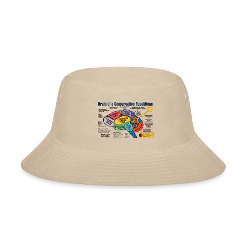 Brain of a Conservative Republican - Bucket Hat