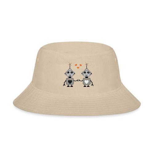 Robot Couple - Bucket Hat