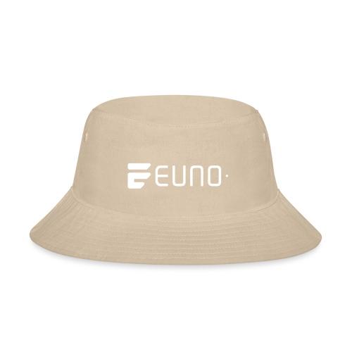 EUNO LOGO LANDSCAPE WHITE - Bucket Hat