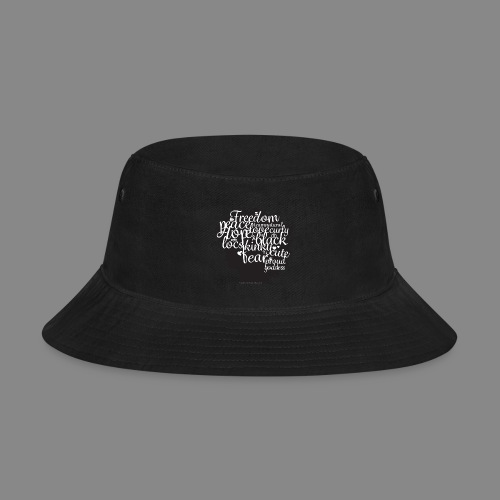 Afro Text II - Bucket Hat