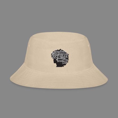 Afro Text II - Bucket Hat