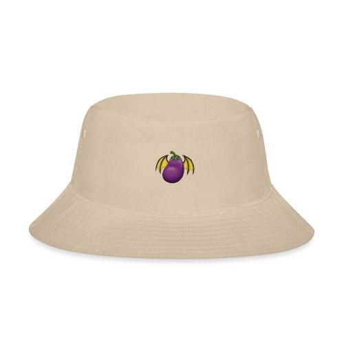 Eggplant Logo - Bucket Hat