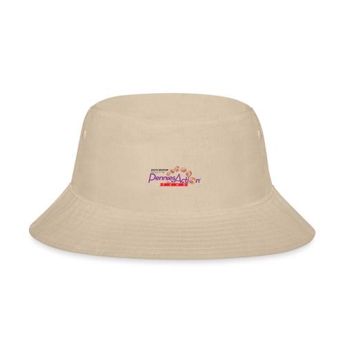 Pennies In Action Logo - Bucket Hat