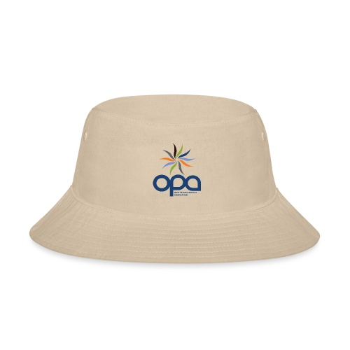 Short-sleeve t-shirt with full color OPA logo - Bucket Hat