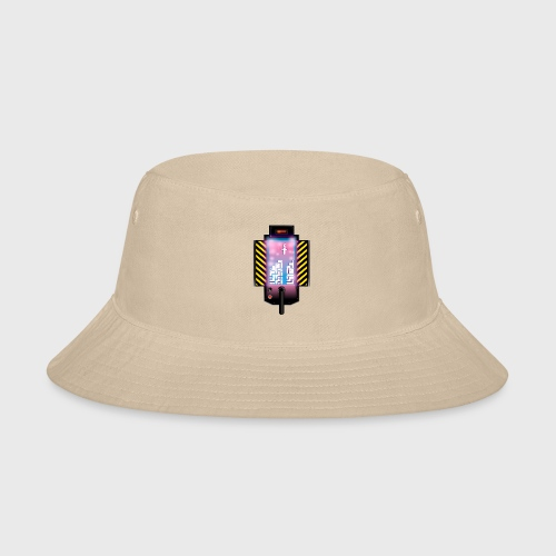 Ghostbusters Tetris Fair Use Mashup - Bucket Hat