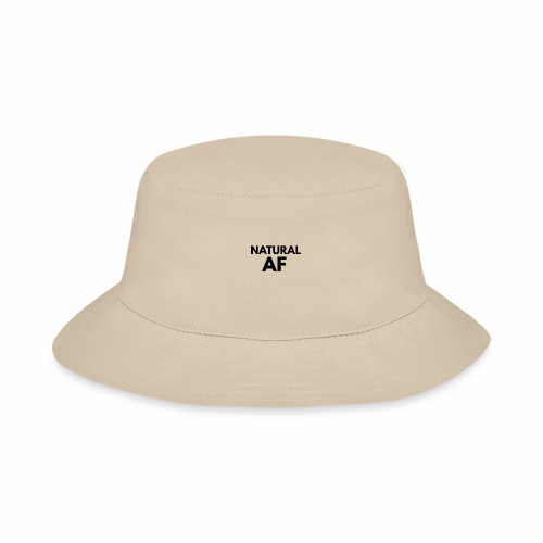 NATURAL AF Women's Tee - Bucket Hat