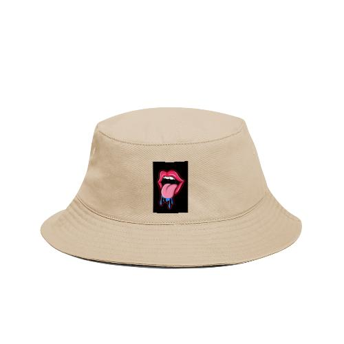 Tongue sticking out cartoon - Bucket Hat