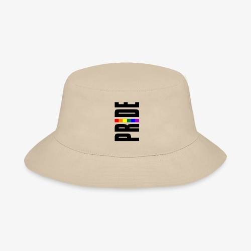 Vertical Pride with LGBTQ Pride Flag - Bucket Hat