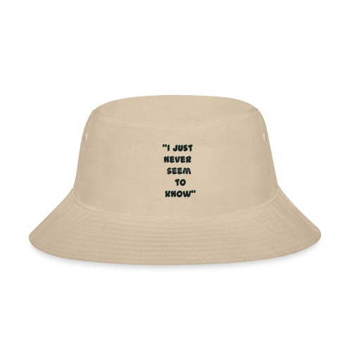 know png - Bucket Hat