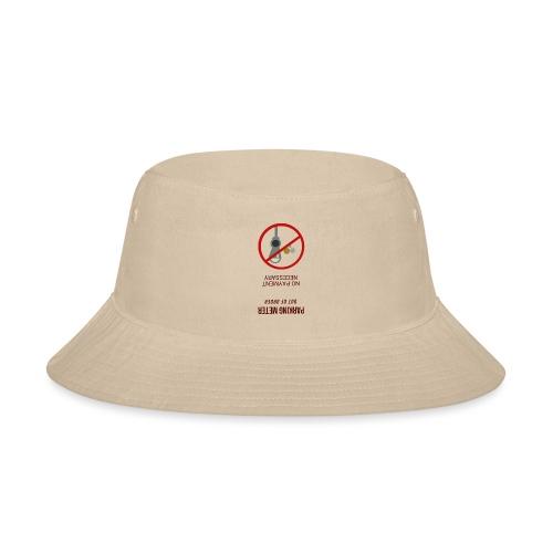 parkingmeterupsidedown.png - Bucket Hat