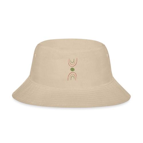 boho double rainbow - Bucket Hat