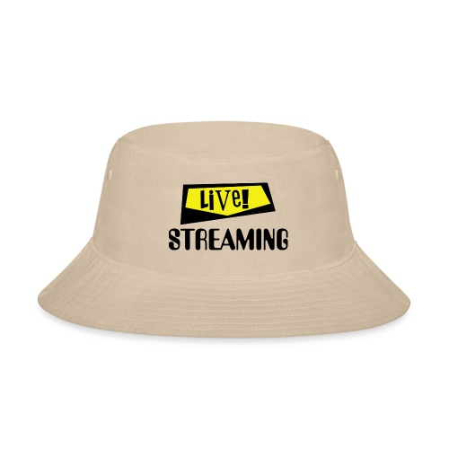 Live Streaming - Bucket Hat