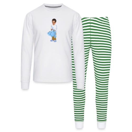 chandler j shelton LOGO BY Shelly Shelton - Unisex Pajama Set