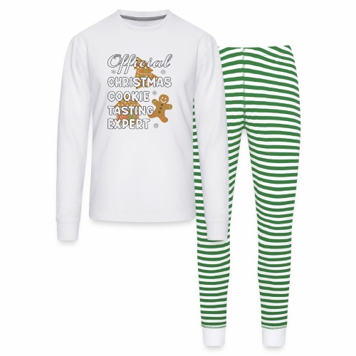 Funny Official Christmas Cookie Tasting Expert. - Unisex Pajama Set