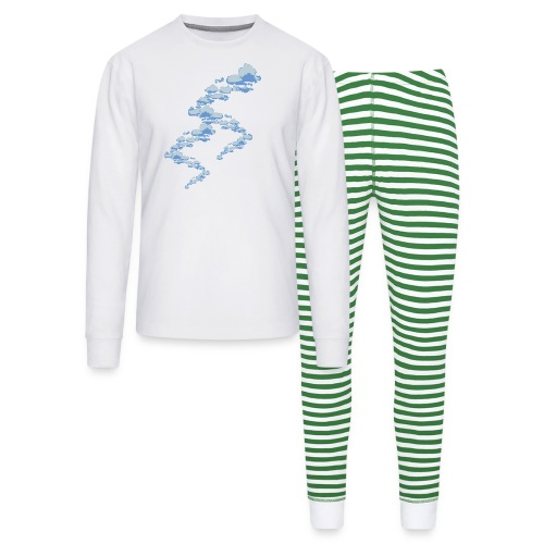 designer clouds - Unisex Pajama Set