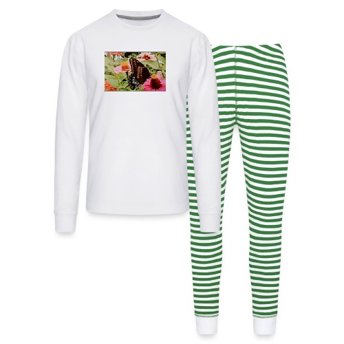 Butterflies are free to fly - Unisex Pajama Set