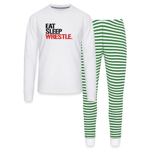 Eat Sleep Wrestle - Unisex Pajama Set