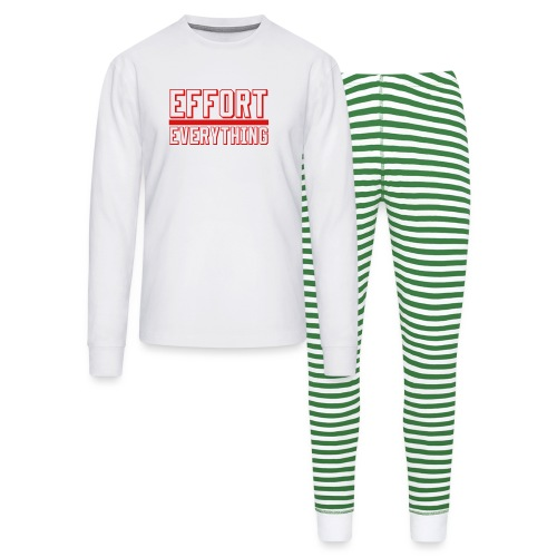 Effort Over Everything - Unisex Pajama Set