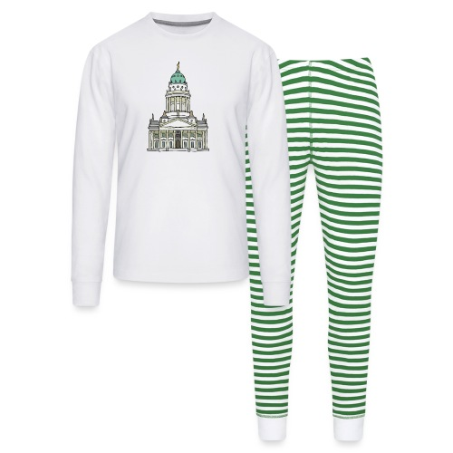 French Cathedral Berlin - Unisex Pajama Set