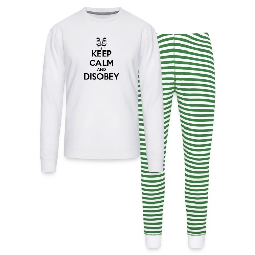 Anonymous Keep Calm And Disobey Thick - Unisex Pajama Set