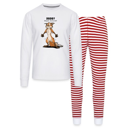 2020? Going great... (for bright backgrounds) - Unisex Pajama Set