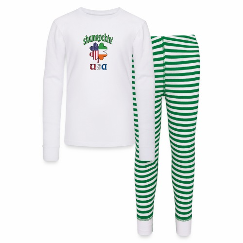 Shamrock USA Good Luck Four Leaf Clover St Paddy's - Kids' Pajama Set
