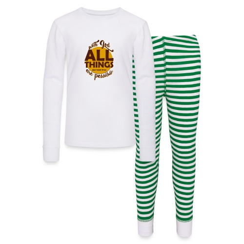 With God, all things are possible - Kids' Pajama Set