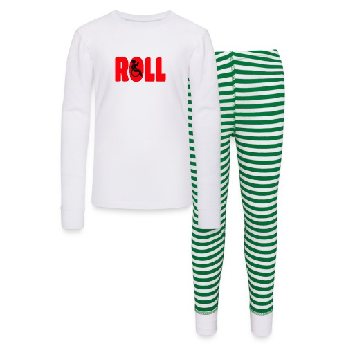 This wheelchair user is also a roll model - Kids' Pajama Set