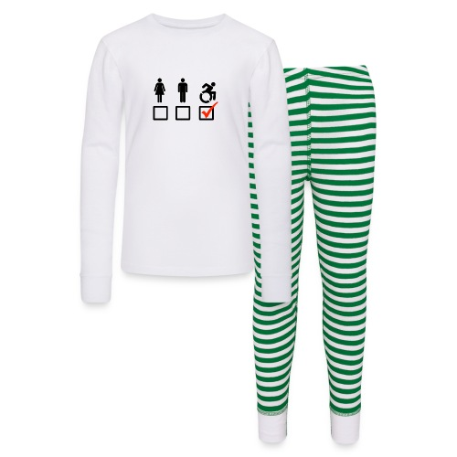A wheelchair user is also suitable - Kids' Pajama Set