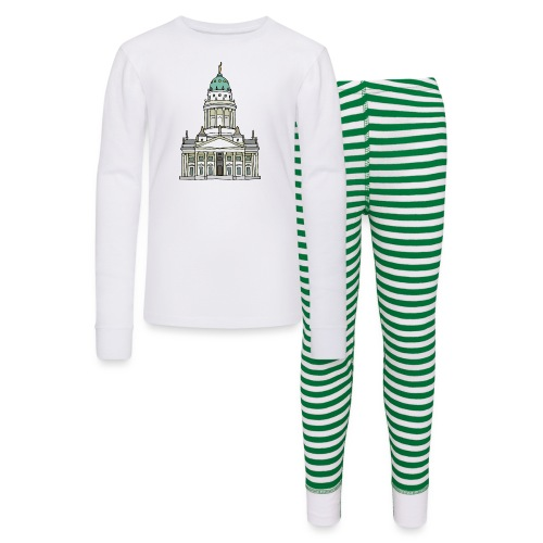 French Cathedral Berlin - Kids' Pajama Set