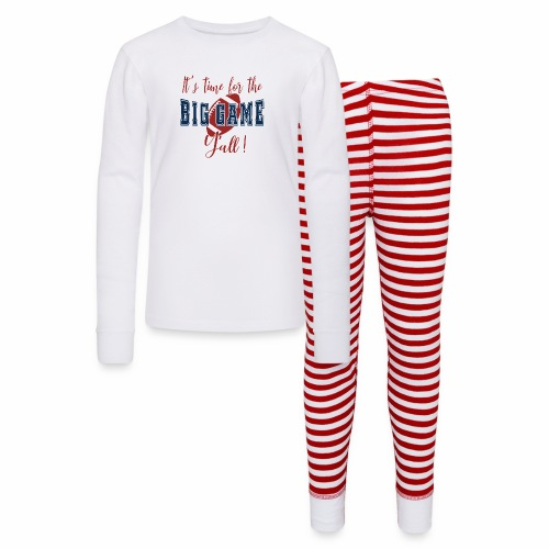 Big Football Game Y'all KC TB Championship. - Kids' Pajama Set