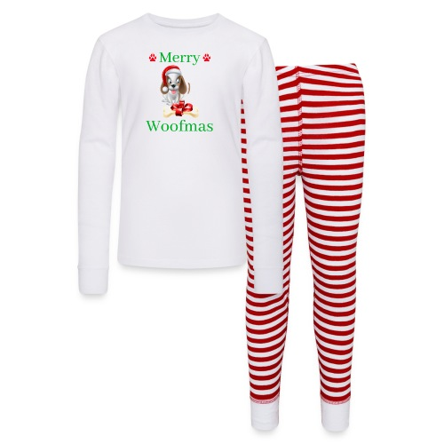Merry Woofmas - Christmas Puppy Dog - Kids' Pajama Set