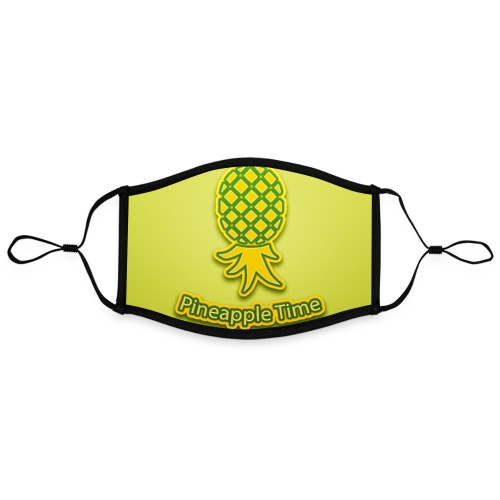 Swingers - Pineapple Time - Adjustable Contrast Face Mask (Large)