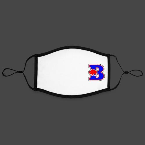B BUFFALO - Adjustable Contrast Face Mask (Large)