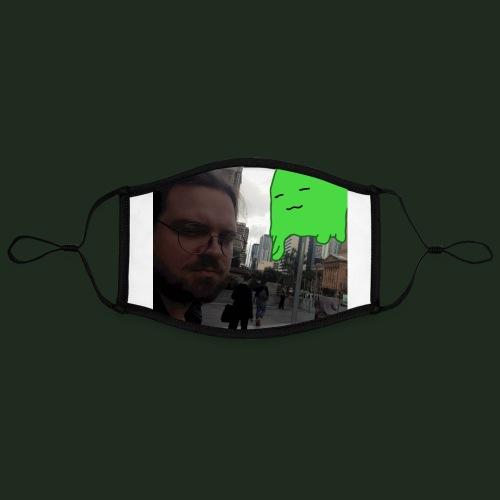 Slime Attack - Adjustable Contrast Face Mask (Large)