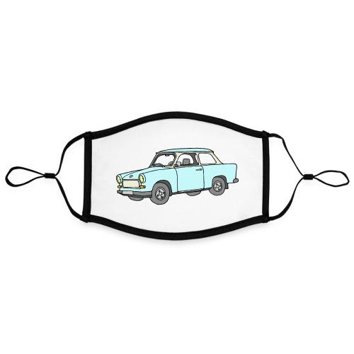 Trabant (lightblue) - Adjustable Contrast Face Mask (Large)