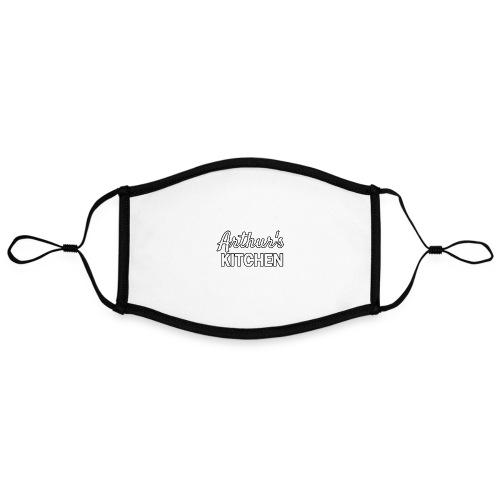 arthur's kitchen - Adjustable Contrast Face Mask (Large)