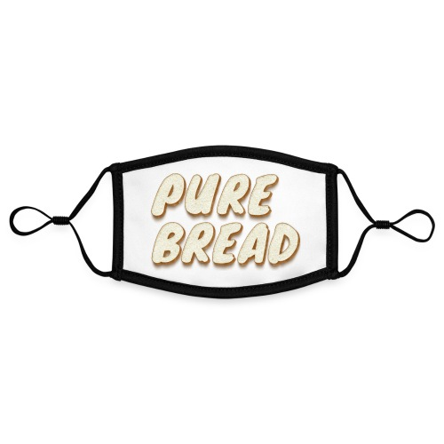 Pure Bread - Adjustable Contrast Face Mask (Small)