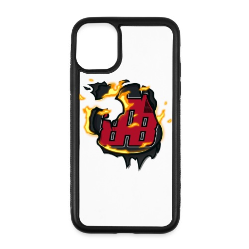 BAB Logo on FIRE! - iPhone 11 Case