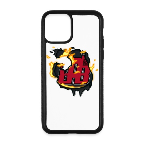 BAB Logo on FIRE! - iPhone 11 Pro Case