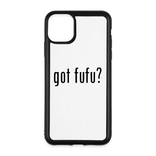 gotfufu-black - iPhone 11 Pro Max Case