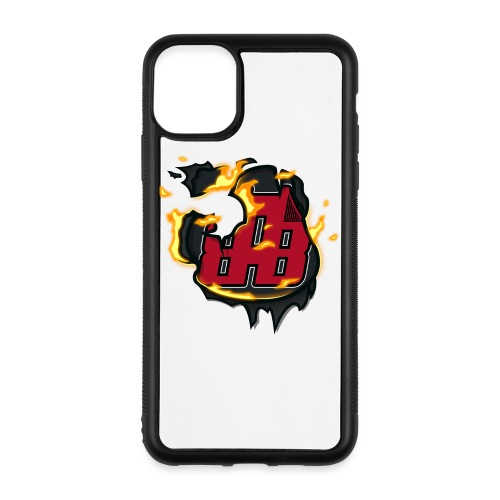 BAB Logo on FIRE! - iPhone 11 Pro Max Case